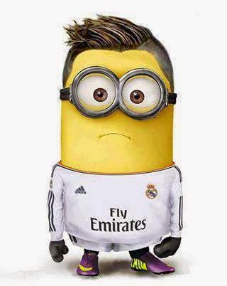 Imagenes De Minions Real Madrid | im 225 genes minions del real madrid minionlander