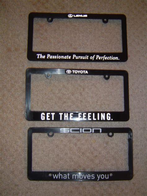 pursuit of perfection lexus quot pursuit of perfection quot plate frames club lexus forums