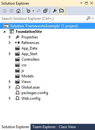 javascript project layout create asp net mvc websites css ui kits frameworks