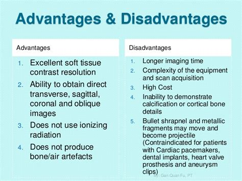 3 Tesla Mri Advantages And Disadvantages Basicunderstandingonmagneticresonanceimagingmri