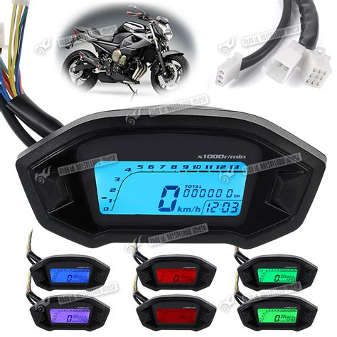 Tacho Motorrad by 12v Digital Backlight Motor Motorcycle Led Odometer