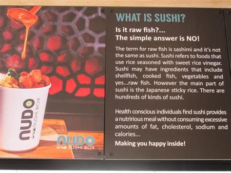 nudo sushi box delivery new opening nudo sushi box oxford road