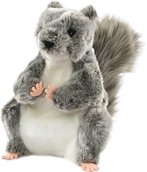 grey squirrel puppet 25cm wildlife puppets new ebay