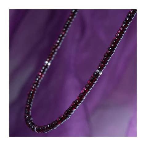 Handmade Necklaces For Guys - handmade necklace for in roughcut garnet maxshock