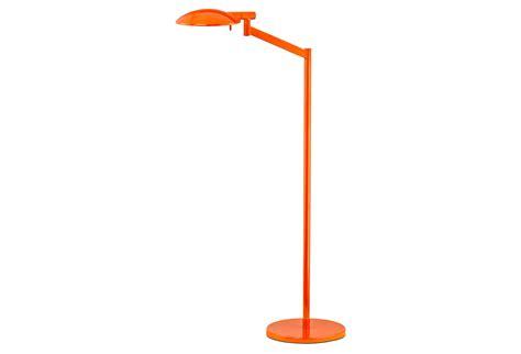 orange swing pharmacy swing arm floor l orange from one kings lane