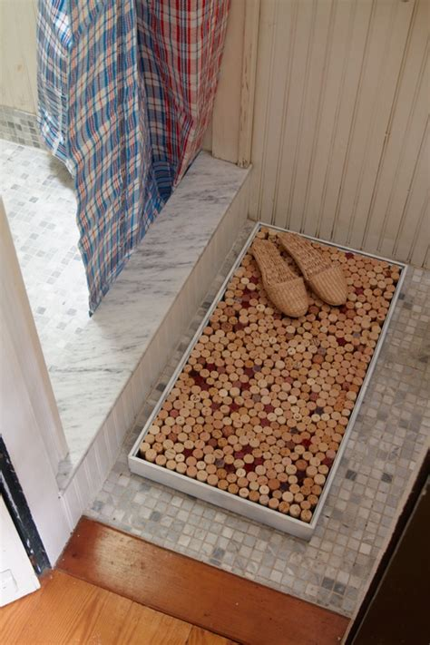 Wine Cork Bath Mat Diy by 50 Great Ideas For Diy Wine Cork Craft Projects Snappy