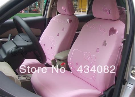 hello kitty bench seat covers pink car seat cover set 10pcs set hello kitty car seat