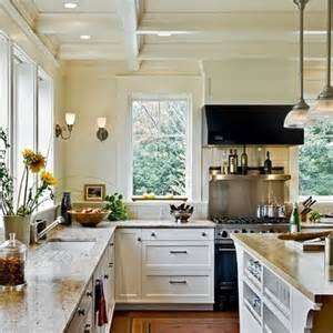 Kitchens without upper cabinets cucina pinterest