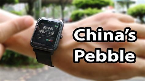 Smartwatch Bipbip xiaomi amazfit bip smartwatch in depth review