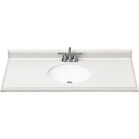 cultured marble bathroom sink shop estate by rsi piedmont frost cultured marble integral