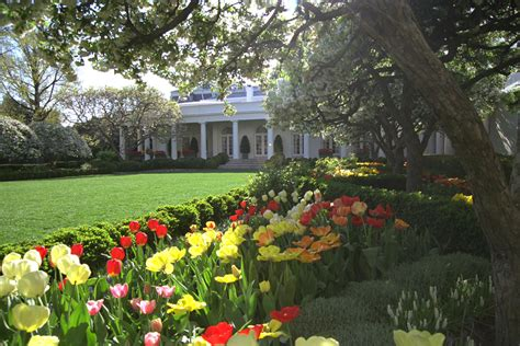 Garden Of Ceo The White House The George W Bush Presidential Library