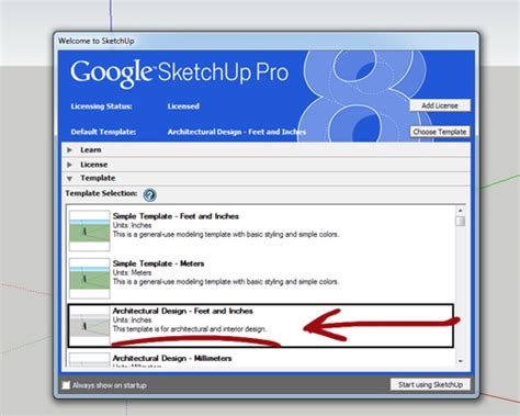sketchup templates sketchup tutorial 10 steps to create a table in sketchup
