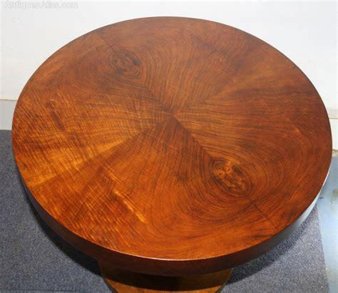 art deco houses deco circular circular interiors art art deco circular walnut coffee table pedestal antiques