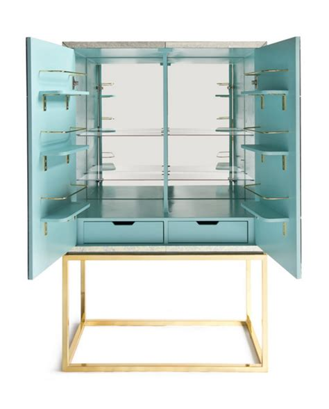mirrored bar cabinet modern style mid century modern furniture archives simplified bee