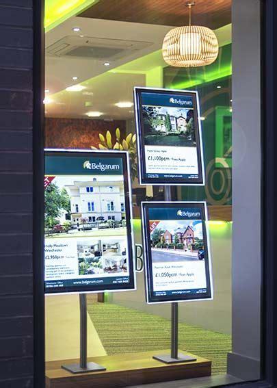 frame design agency 26 best real estate window display images on pinterest