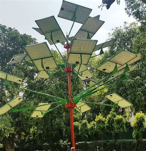 solar power tree a solar tree that produces 5kw in just four square