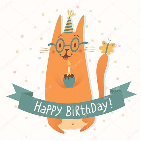 imagenes de happy birthday con gatos tarjetas gatos feliz cumplea 241 os