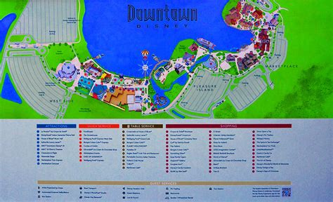 map of downtown disney downtown disney florida map classic photograph by david thompson