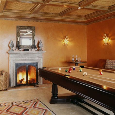 Home Designer Suite Pool Table Billiard Tables With Traditional Fireplaces