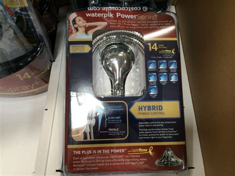 Costco Waterpik Shower by Waterpik Handheld Shower With 14 Settings