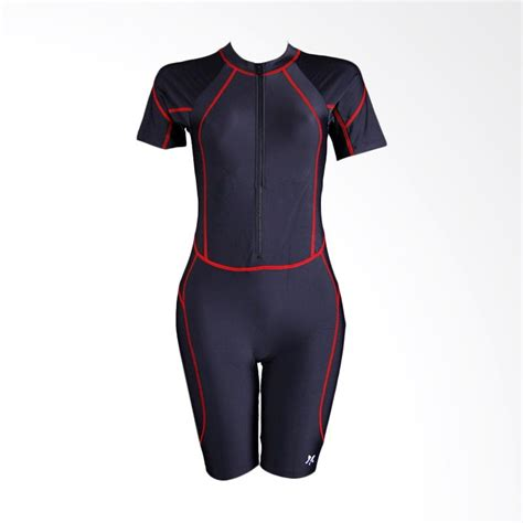 Baju Renang Wanita jual lasona diving trj a2944 l4 black baju renang wanita