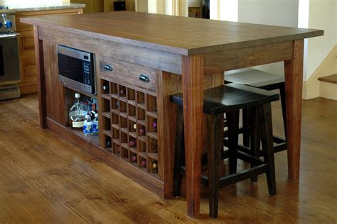 Handmade Kitchen Islands - a custom kitchen island finewoodworking
