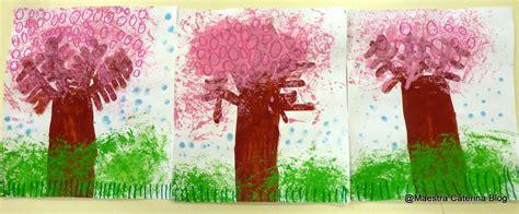 alberi in fiore maestra caterina primavera alberi di pesco in fiore