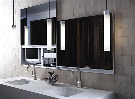 Modern Bathroom Looks Beautiful Bathroom Mirror Looks Modern Decoist