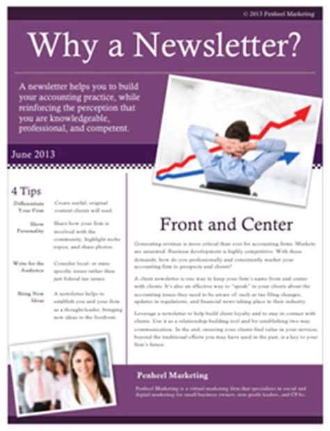 Customer Newsletter Lead Generation With Customer Focused Newsletters Penheel Marketing
