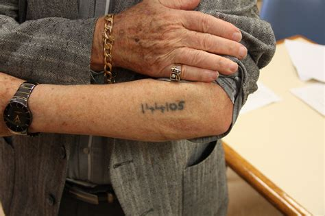 holocaust tattoo an auschwitz survivor pictures to pin on