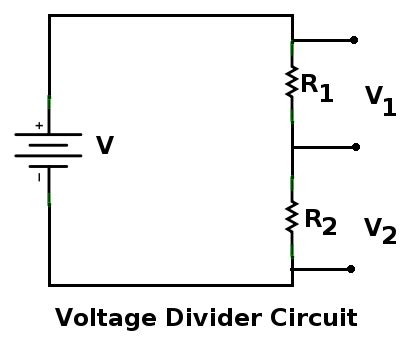 simple resistor divider circuit resistors will electricity flow in a perfectly conductive medium electrical engineering