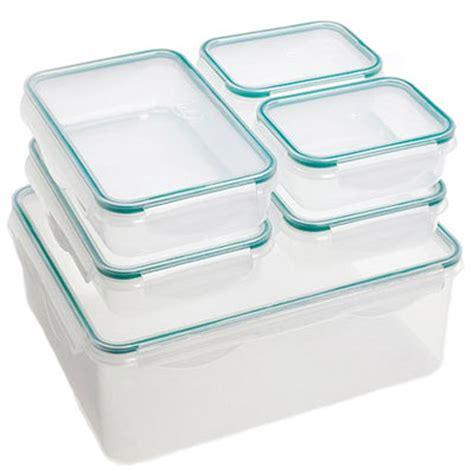 Lock N Lock Food Storage Containers - jml 6 piece lock n seal food storage containers