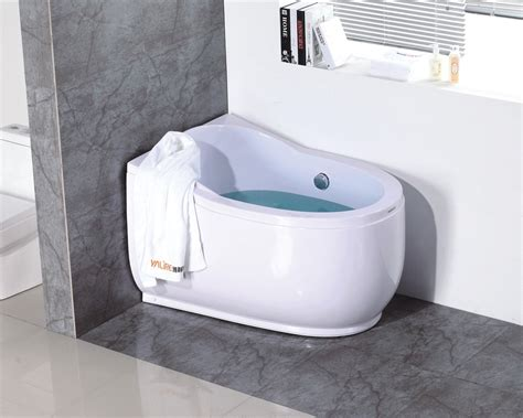 compact bathtubs simple modern small round bathtubs buy small round