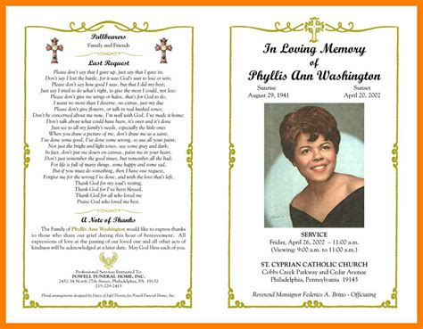 Religious Obituary Sles Good Resume Format Free Editable Obituary Template