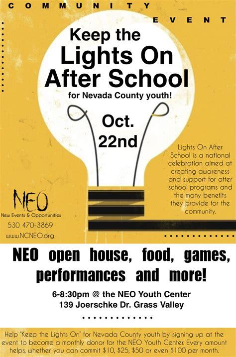 lights on after lights on after ncneo