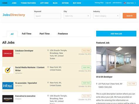 themes wordpress jobs best jobs directory theme 2018 responsive wordpress