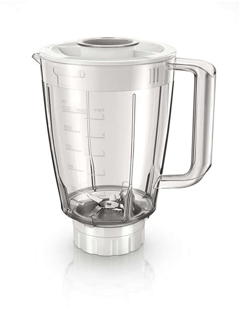 Philips Blender 1 Liter Hijau Hr2057 philips 1 5 l plastic jar with 5 blade compatible for hr 21xx series blender 11street