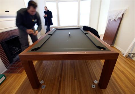 Pool Table Conference Table Fusion Tables The Set Up Notcot