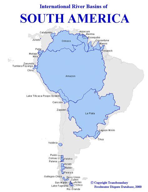south american image south america water basins gif waterwiki net