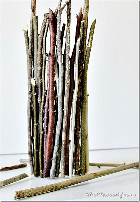 Sticks For Vases by Wood Stick Vase Thistlewood Farm
