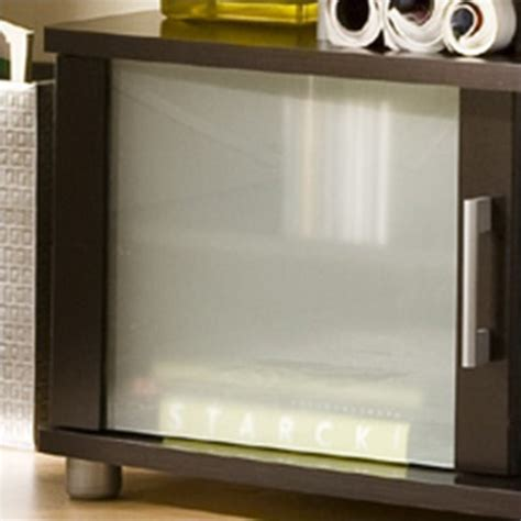 Tv Lcd Merk Cocoa south shore city lcd tv stand in chocolate finish