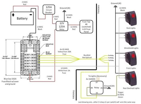 80 series spotlight wiring diagram wiring diagram
