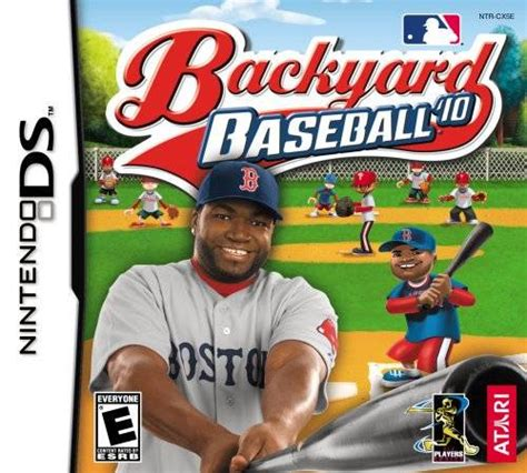 backyard baseball video game backyard baseball 10 ds game