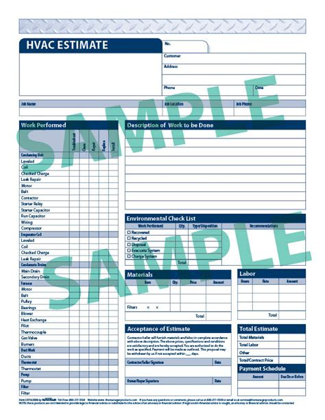 hvac quote template forms quotes like success
