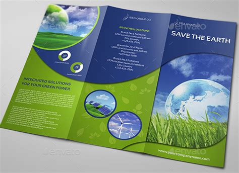 environment template 10 brilliant environmental energy brochures to inspire