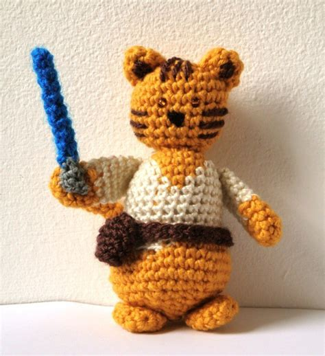 amigurumi lightsaber pattern star wars amigurumi a series of crochet patterns by ana yogui