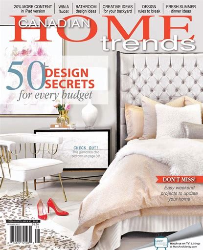 home trends magazine canadian home trends magazine spring 2017 subscriptions