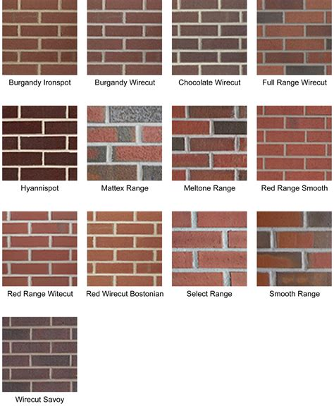 brick color decorating chic boral brick collection colors