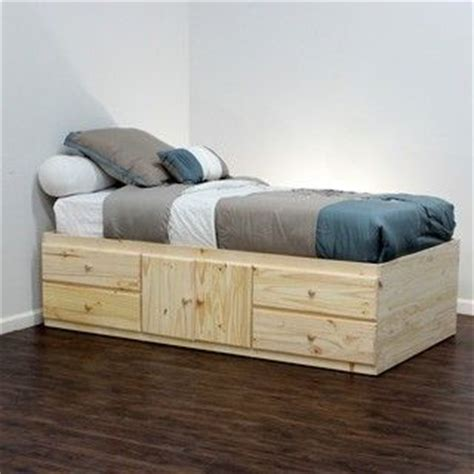 twin xl bed with storage storage beds twin xl and twin on pinterest