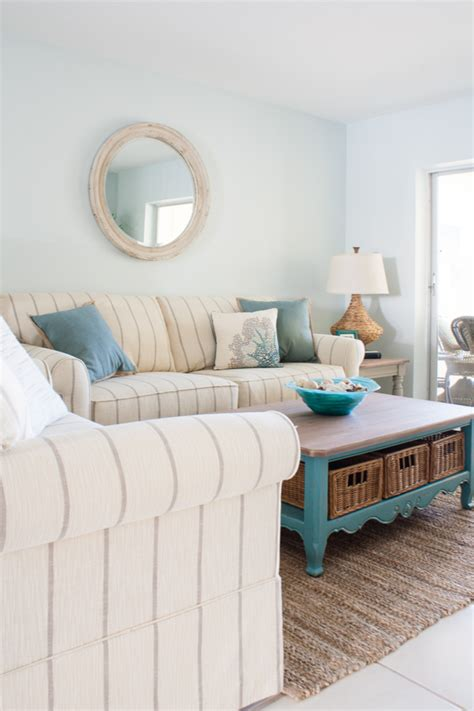 Seaside Cottage Plans Beach Condo Living Room Decor Before And Afters The